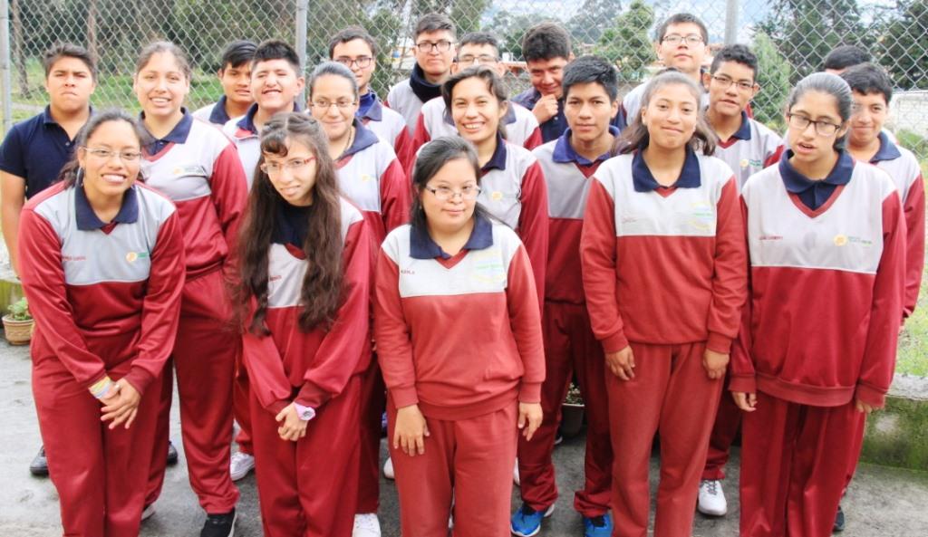 Beneficiarios del Centro de Jóvenes con Discapacidad Intelectual