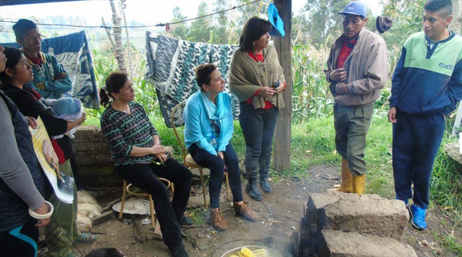 Visita a beneficiario del Programa de Atención en el hogar y la comunidad