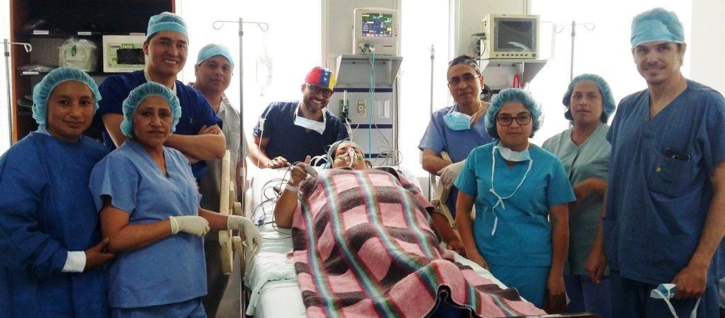 Hospital Padre Carollo realizó la 1era. cirugía bariátrica del sur