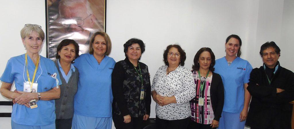 Embajadora de Canadá visitó Fundación Tierra Nueva por brigada méd...
