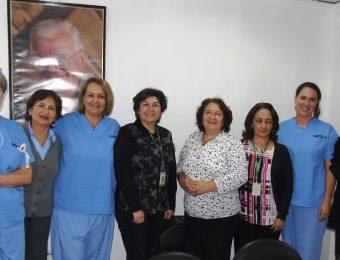 La embajadora de Canadá, Marianick Tremblay, visitó el Hospital Padre Carollo al finalizar al primera semana de la Brigada Médica organizada por Fundación Tierra Nueva y CAMTA.