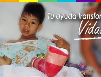 Gracias a cirugía Iván será un goleador
