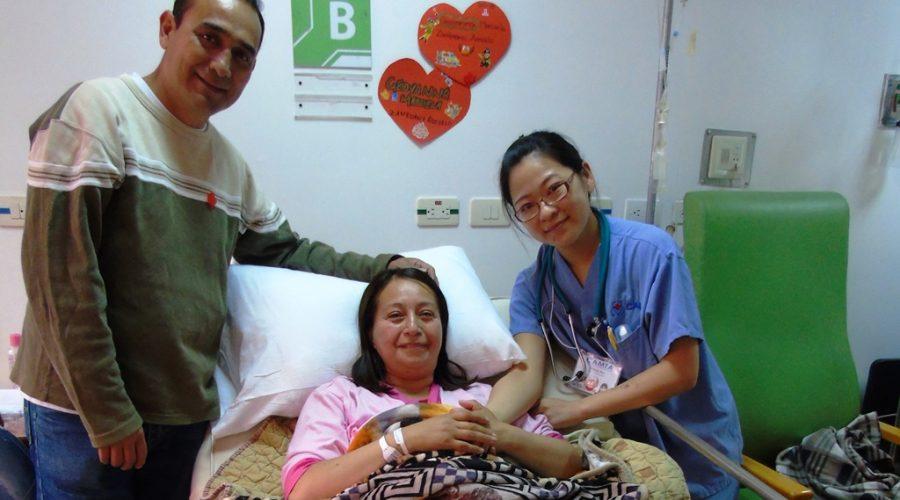 Maricela fue beneficiaria de cirugía de cadera.