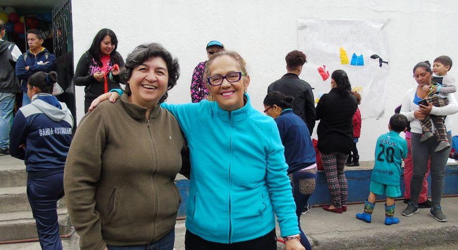 Berenice Cordero, Ministra del MIES, inaugura Misión Ternura junto a Marcela Cruz, Directora Ejecutiva de Fundación Tierra Nueva