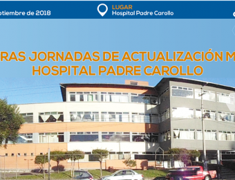 Próximamente se desarrollarán las Jornadas de Actualización Médica del Hospital Padre Carollo