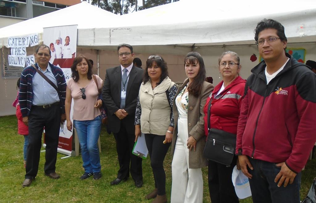 Representantes de las organizaciones que administran Centros Infantiles, que participaron en esta feria.