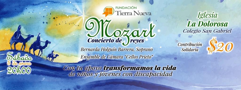Mozart, Concierto de Reyes en beneficio de niños con discapacidad