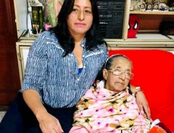 Alba Vallejo promotora de salud de Fundación Tierra Nueva