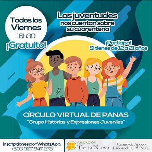 """Círculo Virtual de Panas """"Grupo Historias y Expresiones Juveniles"""""""