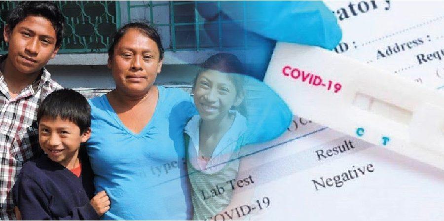 Recaudación de fondos para adquirir pruebas del COVID19 para personas de escasos recursos