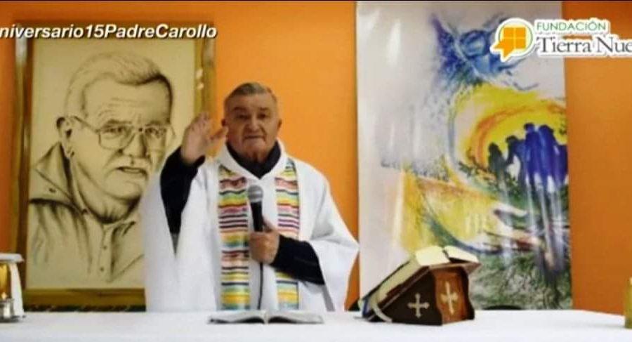 Misa 15 años Pascua Padre José Carollo