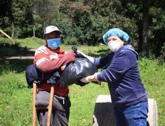 Fundación Tierra Nueva entrega kits de alimentación