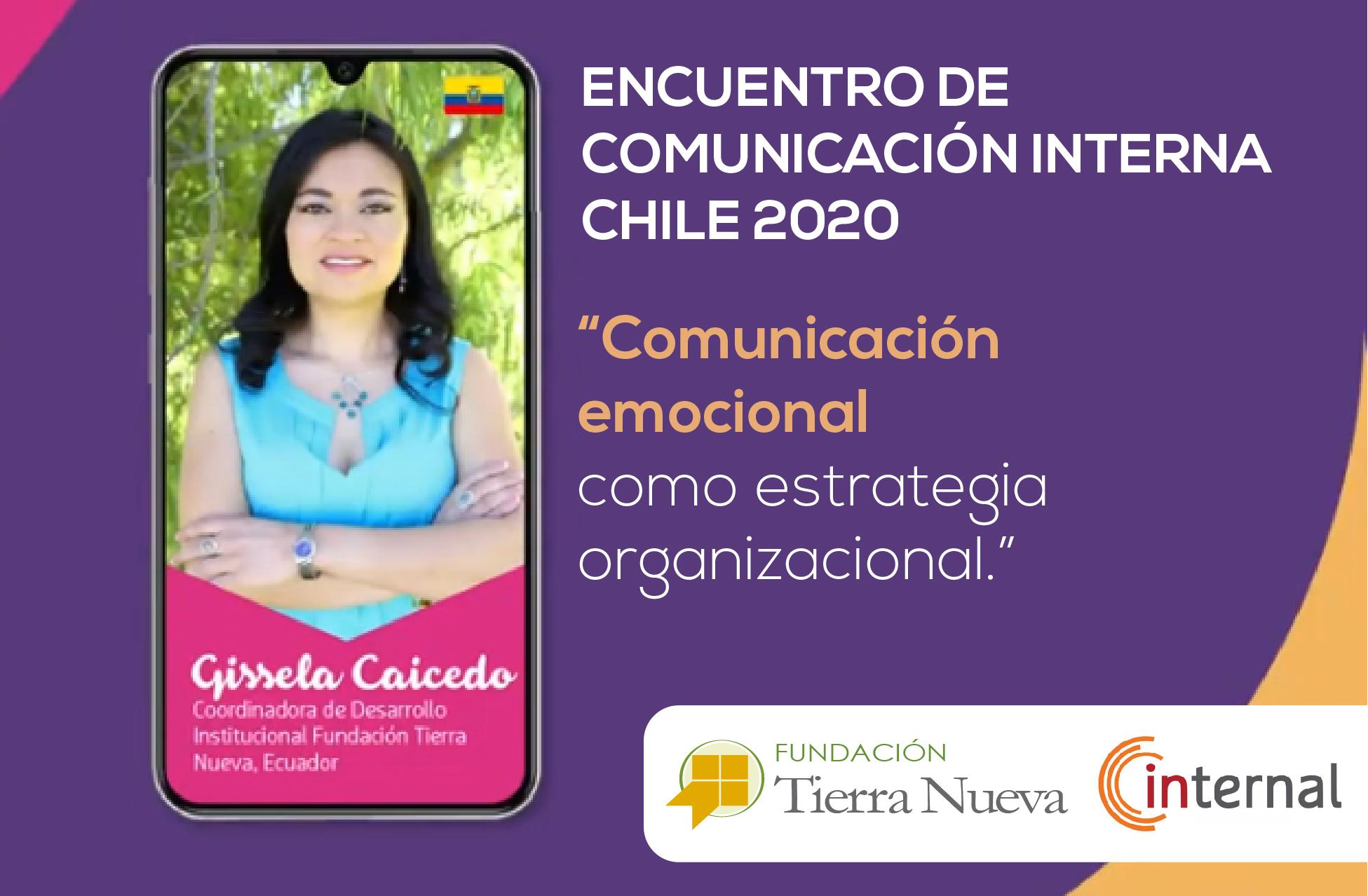 Encuentro de Comunicación Interna Chile 2020. Imagen tomada del portal web de Internal.