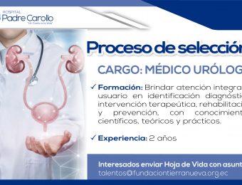 Médico Urólogo